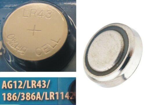 386A LR1142 NEU OVP Sofortversand 186 LR43 Knopfzelle Batterie AG12
