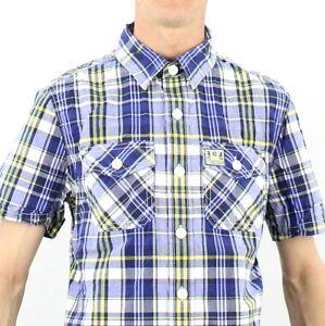 Karierte Superdry Herren Freizeithemden & Shirts günstig
