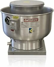 Captiveaire Du33hfa 33hp1ph Kitchen Centrifugal Upblast Directdrive Exhaust Fan