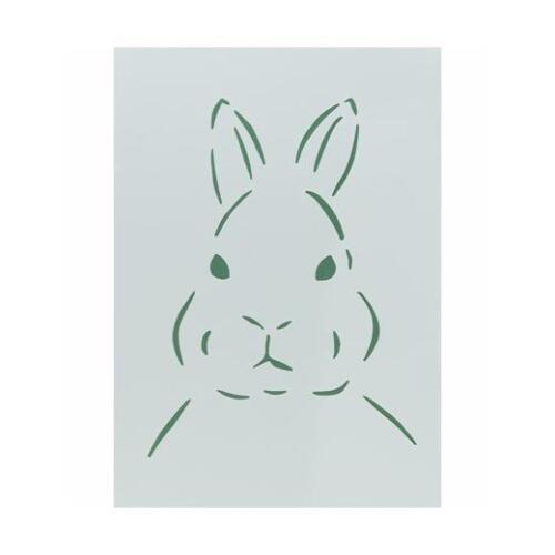 Rabbit Short Ear #441008 Kippers Hobby Whittax Polyester Stencil A4