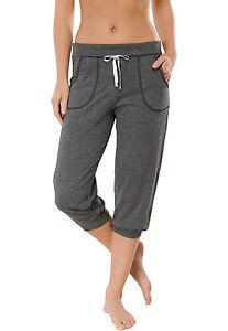 Schiesser-filles-Uncover-Pantalon-3-4-de-loisir-Fitness-repos-XS-XL-femmes