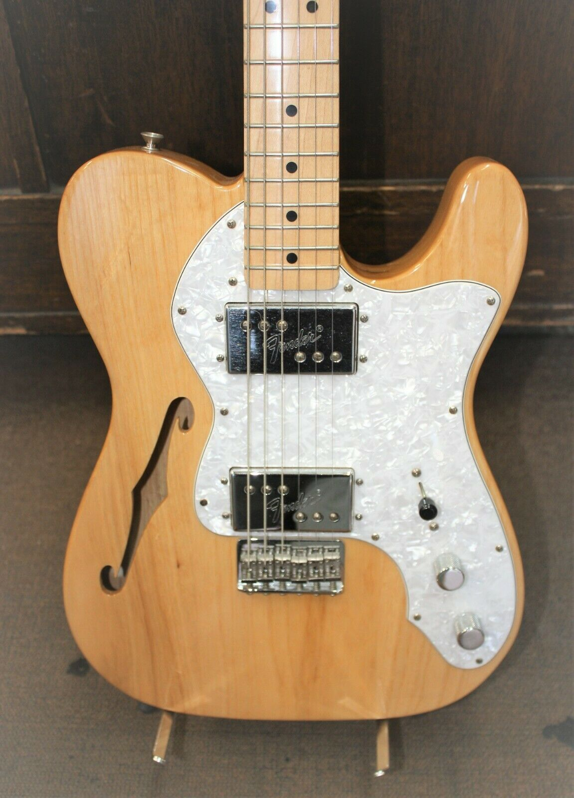 Fender Classic Serie'72 Telecaster Thinline Natural