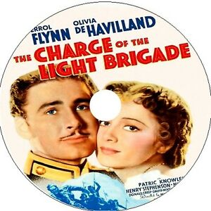 The Charge Of The Light Brigade Errol Flynn Olivia De