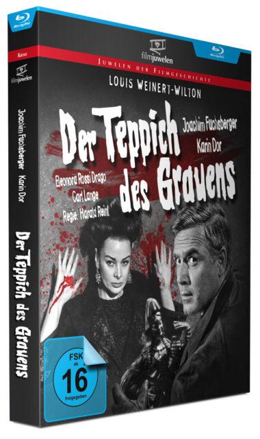 Der Teppich des Grauens - Louis Weinert-Wilton - Karin Dor - Filmjuwelen BLU-RAY