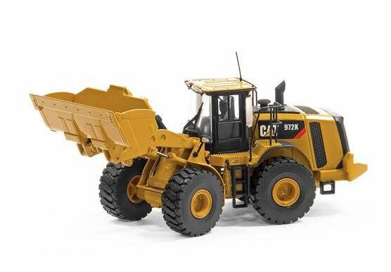 Tonkin replicas 1 50 diecast cat caterpillar 972K chargeuse à roues en jaune TR10005