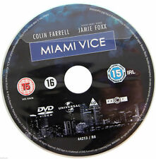 Miami Vice DVD R2 PAL Colin Farrell Jamie Foxx Movie Justin Theroux - DISC ONLY