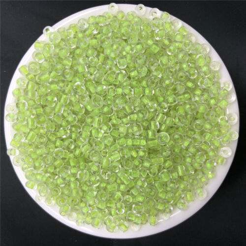 NEW DIY 15g 3mm 500PCS Lots Charm Czech Glass Seed beads Jewelry Making Craft