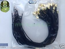 20x 14 in RG174 SMA MALE to SOLDER Bare Cable Pigtail Coaxial RF Ships same day
