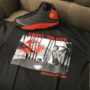 2d92847b47f1 Shirt Match Jordan 13 Bred Shoes Retro 13 - Tony Knows Tee