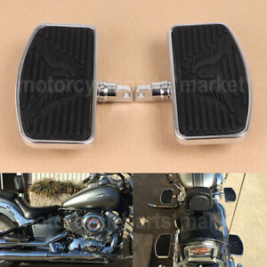 Adjusted Motorcycles Front Or Rear Foot Boards Mini Floorboards For Harley Honda Ebay