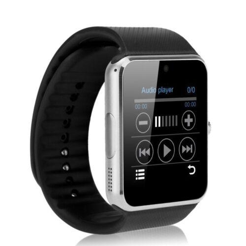 Unisexe GT08 Bluetooth GSM Smart Bracelet Montre Caméra texte Appel MIC pour Android IOS