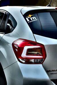 Image Is Loading Subaru Crosstrek Xv Impreza Sport Mbro Led Tail