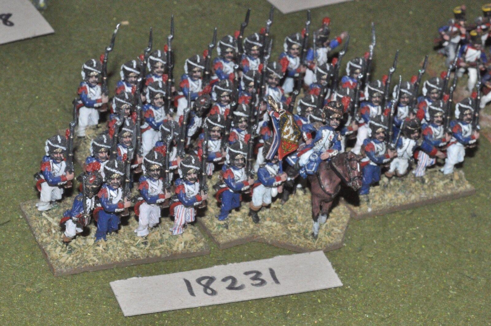 25mm napoleonic napoleonic napoleonic   french - old guard 40 figs - inf (18231) 36a284