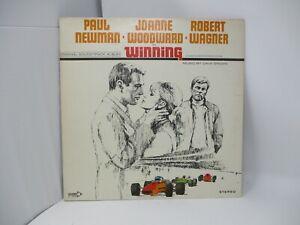 Winning Original Soundtrack LP Decca 1969 Dave Grusin Paul Newman