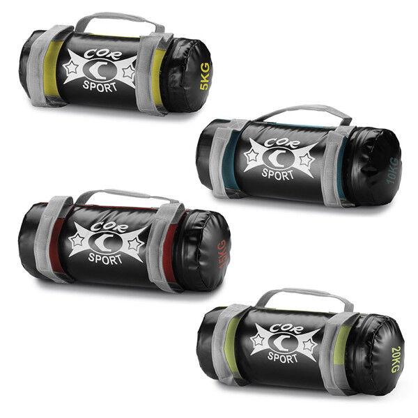 Fitness Tasche corsport Power Weightlifting 5 10 15 20 kg PowerTasche Tasche weight