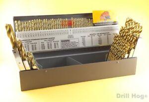 115 pcs drill hog letter number drill bit set titanium ti 22 image is loading 115 pcs drill hog letter number drill bit greentooth Images
