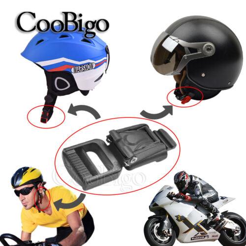 Helmet Release Buckles Slider Adjust Buckle Chin Strap Cup Motorcycle Sport Part