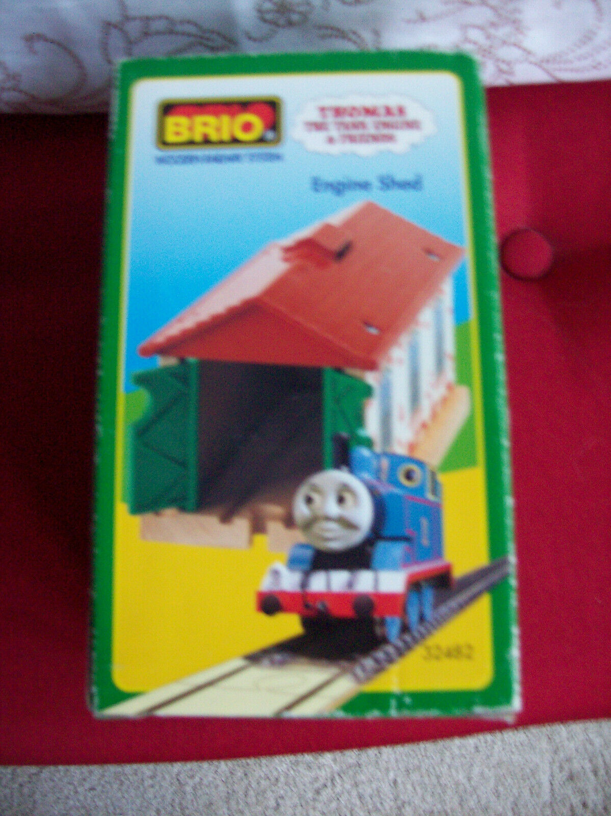 Thomas The Tank Engine & Friends BRIO LOKSCHUPPEN NEU OVP