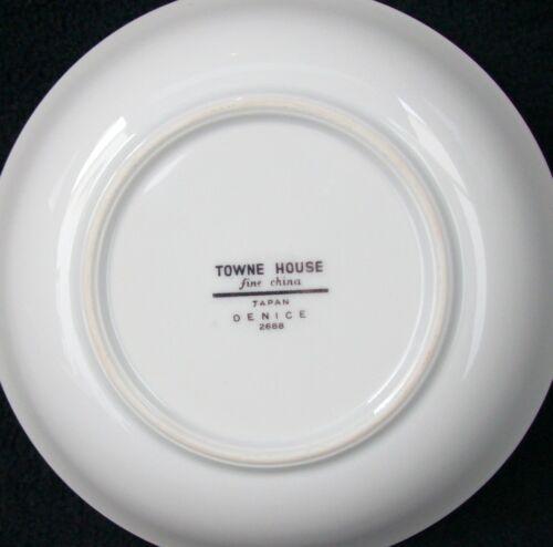 Towne House Fine China Denice #2688 Fruit//Dessert Bowl
