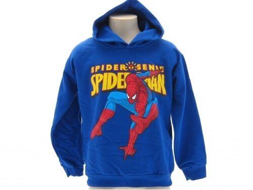 felpa maglia Spiderman Marvel originale Felpa Inverno 2015 Nuovo modello stock