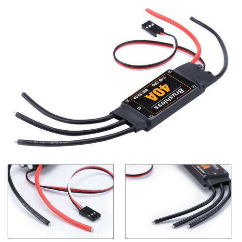 40A Brushless ESC Speed Controller with UBEC for RC FPV Quadcopter RC Reliable