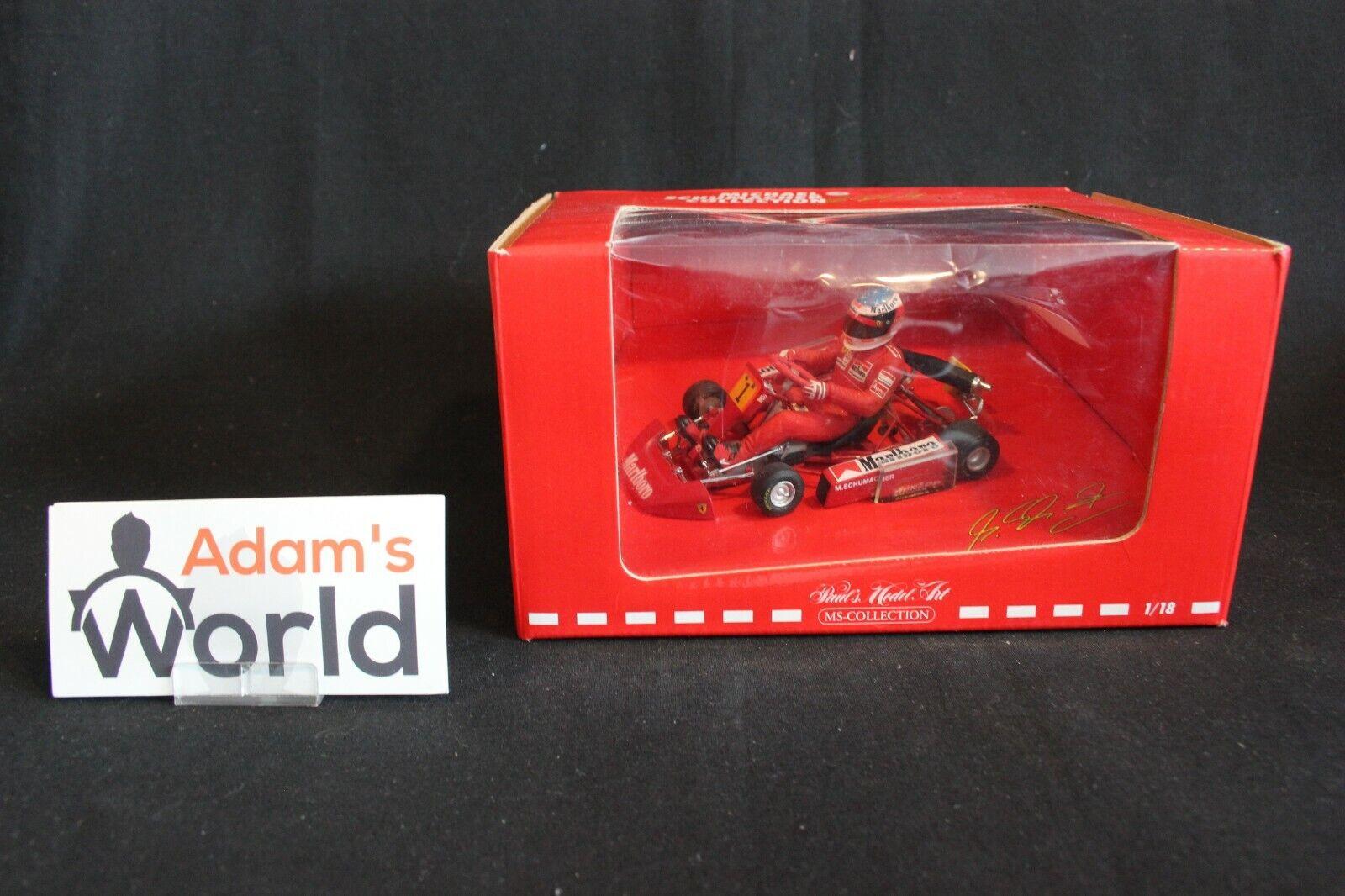 Minichamps Go Kart 2003 1 18 Michael Schumacher (GER)  Marlbgold  (PJBB)