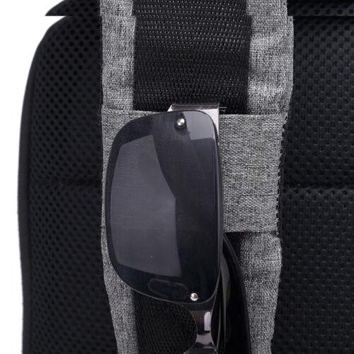 Chargeur USB Hommes bandoulière Sacs Business Homme Sac d/'épaule Anti-Theft poitrine sacs
