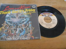 """7"""" OST Thank God It's Friday - Love And Kisses / You're The (2 Song) CASABLANCA"""