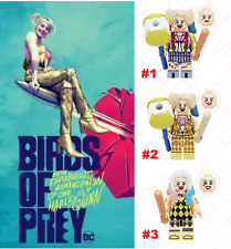 Custom Dc Super Heroes Minifigures Bird Of Prey Harley Quinn Lego Brand Bricks Us Polybull Com