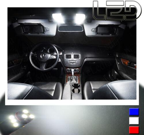 MERCEDES ML W163 PACK  8 Ampoules LED Blanc plafonnier Habitacle éclairage tapis