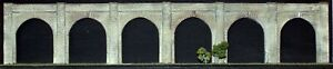 Viaduct-6-arches-1-14-034-NV6-UNPAINTED-N-Gauge-Scale-Langley-Models-Kit-1-148