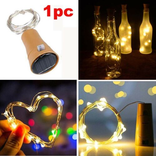 Solar Power 12M 100LEDs String Rope Fairy Lights Xmas Garden Party Outdoor Lamp