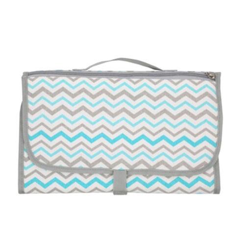 New Multifunction Portable Diaper Changing Bag Pad Folding Bag Baby Changing Mat
