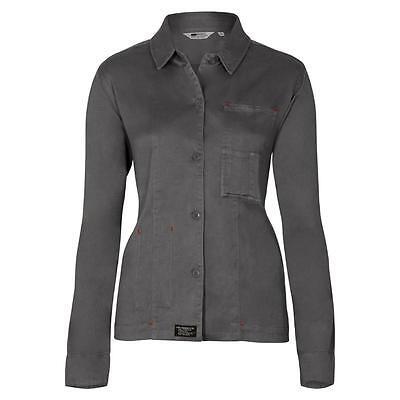 Womens Levi Strauss All-Duty Heavy Cotton Shirt Grey/Green Ladies Levis S/M/L