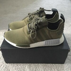 buy online adda3 6bd68 Details about Adidas NMD R1 Olive Green | Footlocker Exclusive | *RARE* |  UK 10
