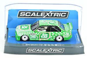 Scalextric-034-Tic-Tac-034-BMW-E30-M3-DPR-W-Lights-1-32-Scale-Slot-Car-C3865