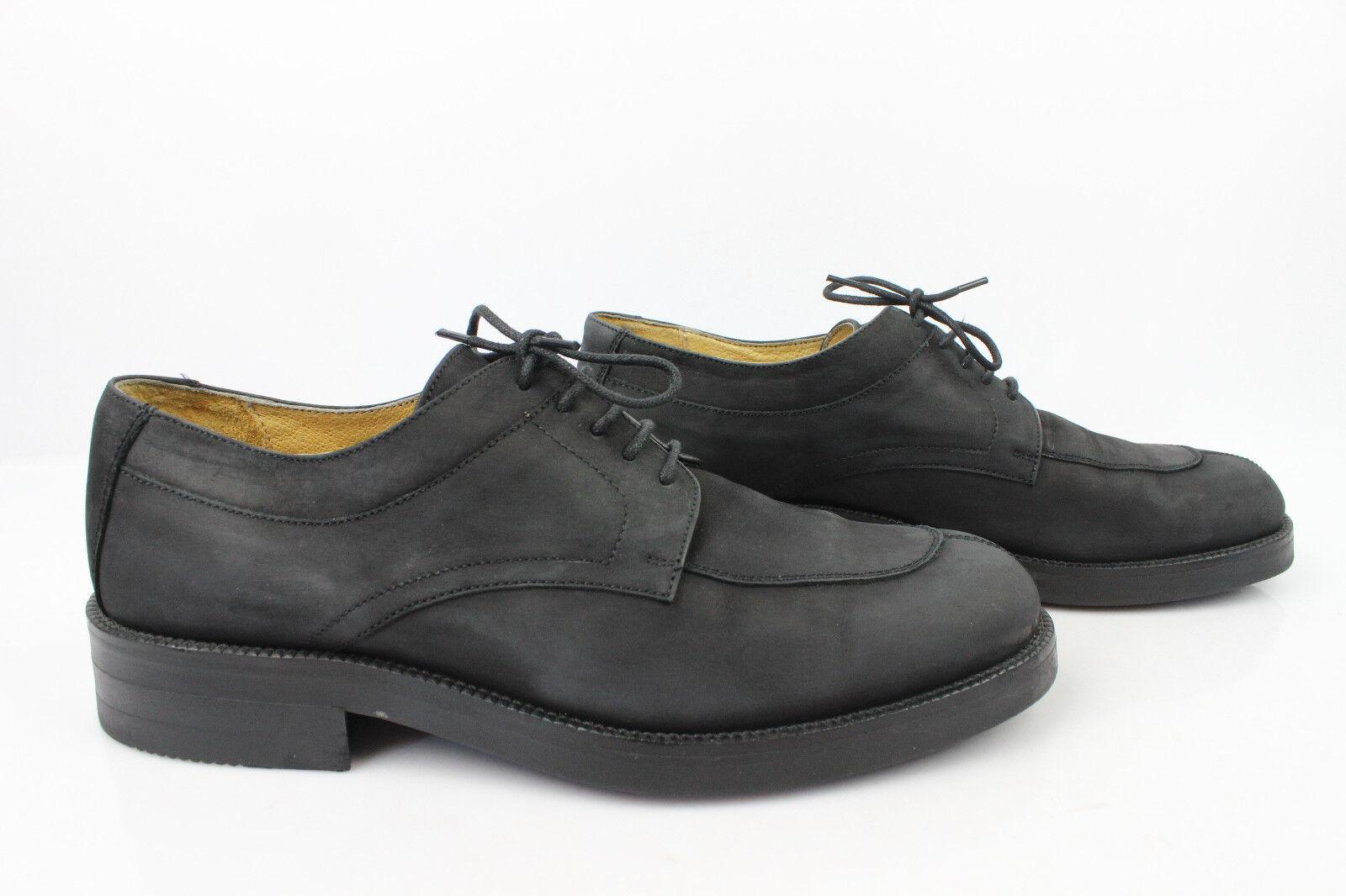 Vintage Oxfordschuhe The Authentic DAVISON Leder schwarz schwarz schwarz t 40,5 682c51
