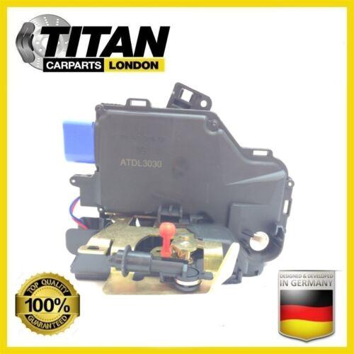 For Audi A3 8P1 A8 4E Door Lock Actuator Front Left Near Side OE 4E1837015 9 Pin