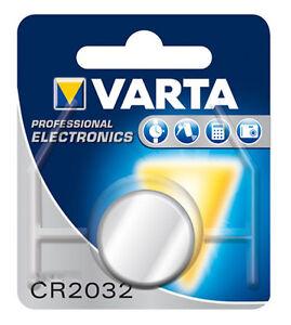 °1x VARTA  CR2032  V3 Professional Electronic Batterie
