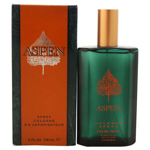 Aspen-By-Coty-Men-4-0-4-OZ-118-ML-Cologne-Spray-New-In-Box