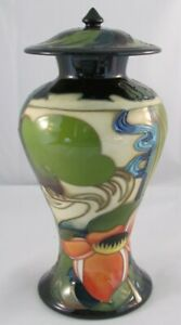 Moorcroft-RYDEN-FIELDS-Jar-With-LID-Designed-By-Emma-Bossons-1st-QUALITY-NICE