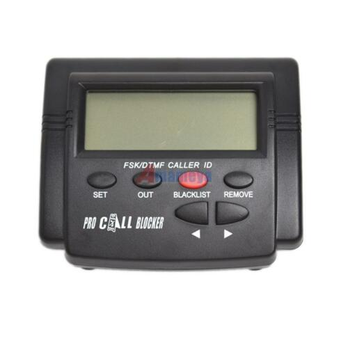 Incoming Phone Call Filter Screen Blocker LCD Display Block up 1500 Telephone No