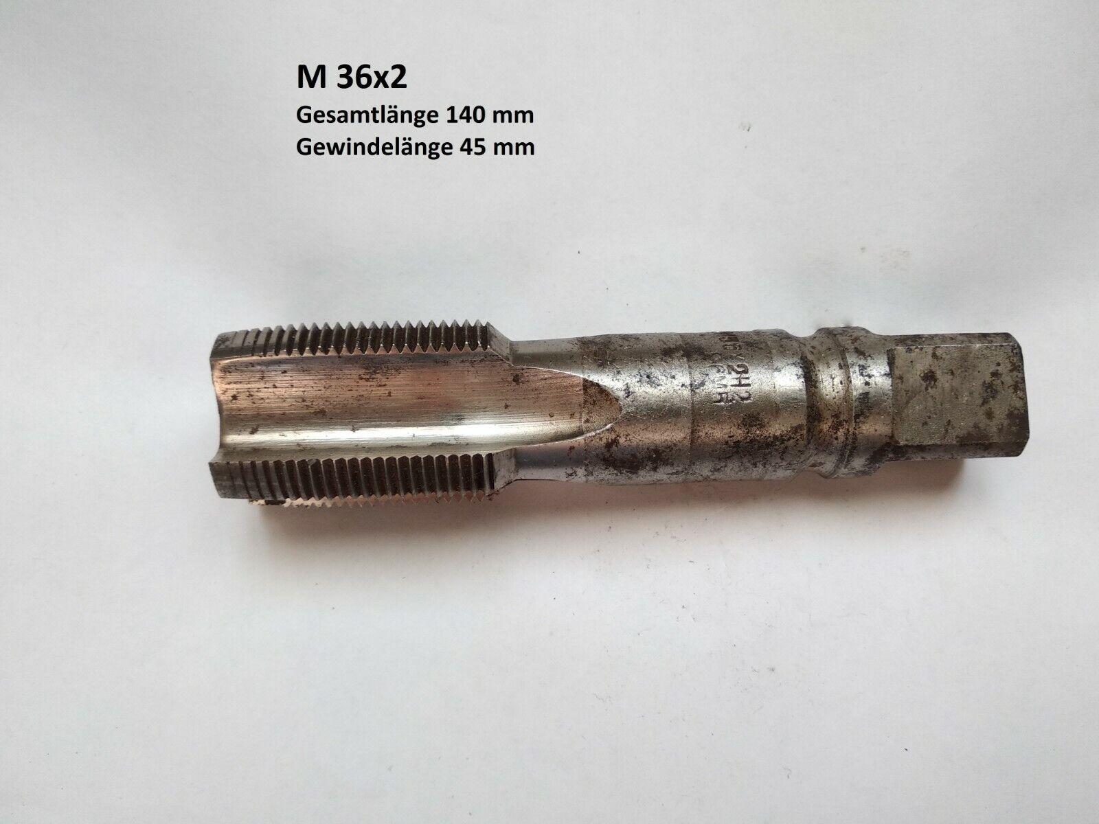 1 Gewindebohrer M36  M39  M48  M52 Rechts HSS UdSSR