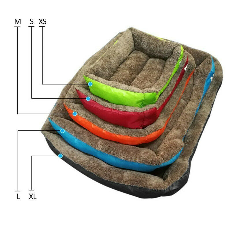 Large Pet Dog Cat Bed Puppy Cushion House Pet Soft Warm Kennel Dog Mat Blanket 7