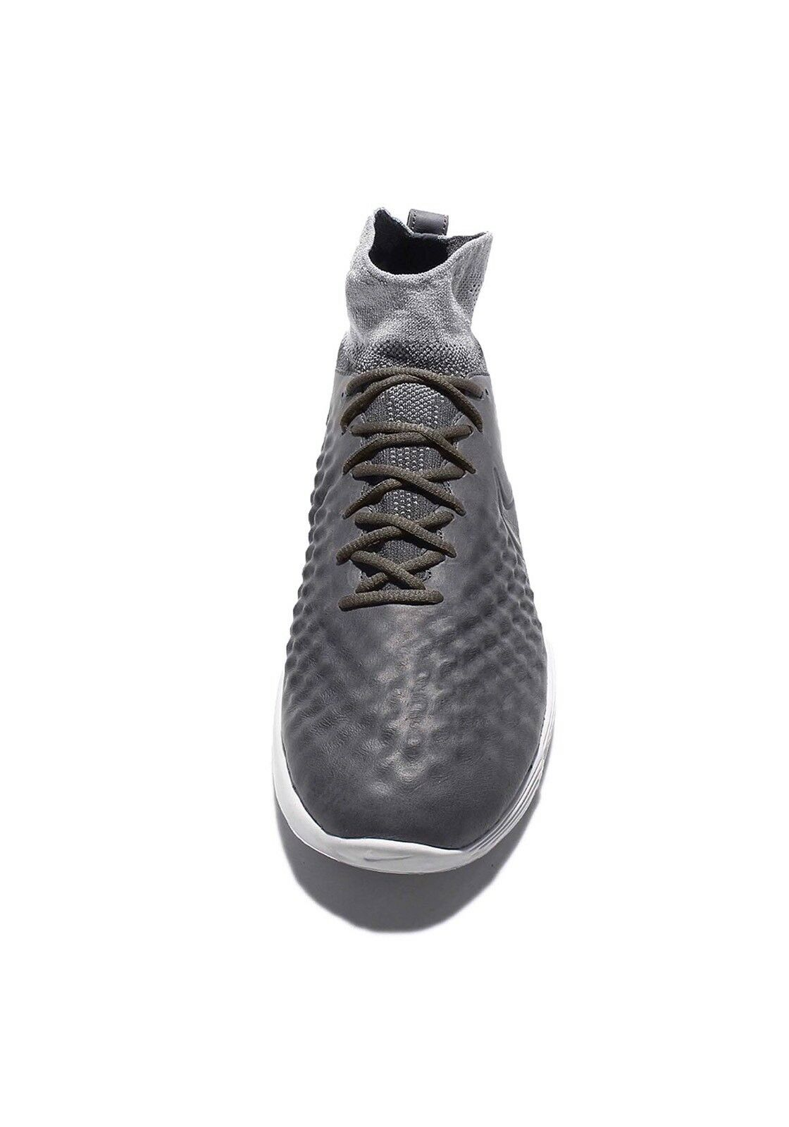 New Nike Lunar Magista II FK Dark Grey Men's NK Flyknit Wolf