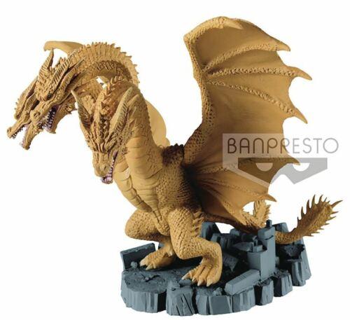 2019 películas de Godzilla-king Ghidorah figura Banpresto