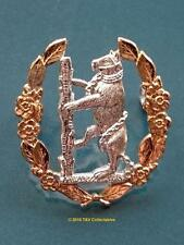 QUEEN'S OWN WARWICKSHIRE AND WORCESTERSHIRE YEOMANRY CAP BADGE (NN)