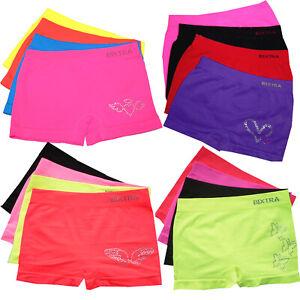 72d61dd0812168 Details zu Mädchen Seamless Panty Mix 4er Pack Unterhose 116 122 128 134  140 146 152 158