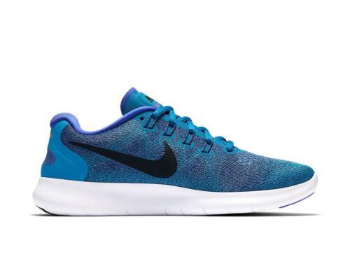 Rn mujer 300 Nike Zapatillas Nuevas para de correr 880840 2017 Free azules awTqxFBO