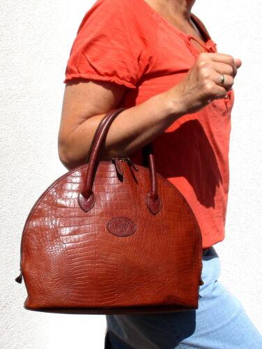 32 Cm Damen Mulberry Medium Breton Cognac Leder Handtasche leder Mississippi fgYymIb76v